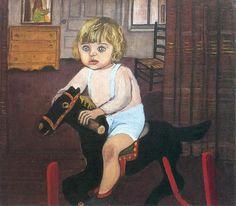 Alice Neel (US 1900-1984) 1943 Hartley on the Rocking Horse