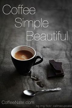 coffee simple beautiful
