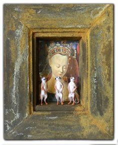 assemblage Madonna of the Meerkats by hogret.deviantart.com