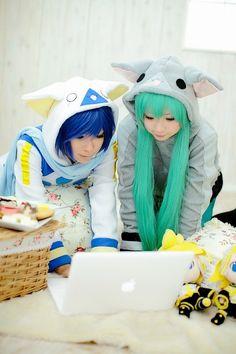 Kaito & Miku Hastune - Vocaloid