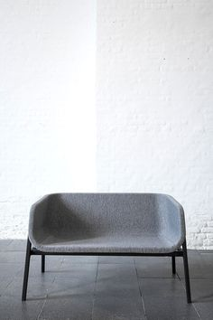 Close is a minimalist design created by Denmark-based designer Norm Architects. The love seat features subtle curves throughout the seating structure with a rigid metal framework for the foundation. (3)