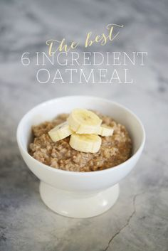 Best Oatmeal Ever | Cupcakes & Cashmere