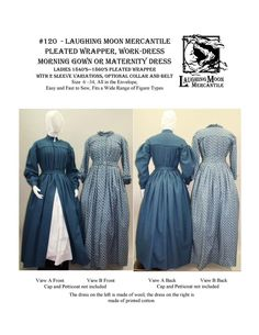 Victorian Ball Gowns, Victorian Corset, Victorian Pattern, Maternity Dress Pattern, Maternity Dresses, Types Of Dresses, Dresses For Work, Dress Work, Morning Dress
