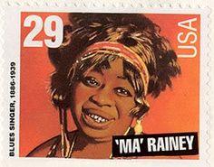 Ma Rainey Postage Stamp