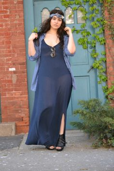 {Hippie Chic} REAL Curvy Girl inspiration from Nadia Aboulhosn, her blog: www.N adiaAboulhosn.com  Follow me @katzilla