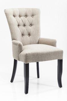 Krzesło z podłokietnikami Villa Nature