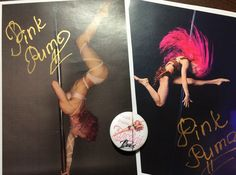 "Signature by Polina Volchek ""Pink Puma"" :-)"