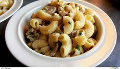 Těstoviny se žampiony Pasta Salad, Macaroni And Cheese, Garlic, Vegetables, Ethnic Recipes, Diet, Bulgur, Crab Pasta Salad, Mac And Cheese
