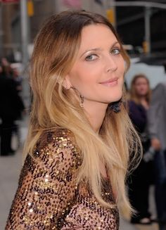drew. ombre hair....getting my hair done tomorrow...think I might try the Ombre color!
