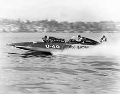 Unlimited #Hydroplane U40 Miss Bardahl  1963 publicity photo.