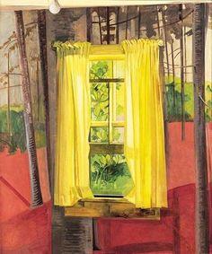 The Painted Room (1982) - Lois Dodd | Art | Pinterest