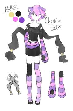 Cheshire Cat Costume Design! by ~Roezlight on deviantART