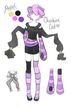 Cheshire Cat Costume Design! by ~Roezlight on deviantART