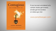 Contagious: Why Things Catch On by Jonah Berger by Kenneth Liew. Edited by: Kenneth Liew
