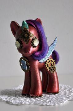 Steampunk pony