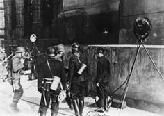 The Nazis had decided that they try to drive out the defenders of the crypt by streams of water from fire hoses.