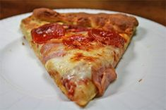This pizza from glutenfreemommy's blog looks delicious. Maybe at some point I'll be up to making my own pizza dough again...and then I'll know where to look.