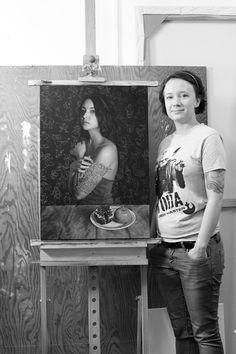 Artist Anna Wypych.