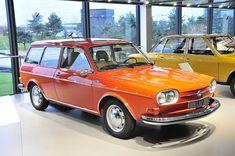 VW Type 4 Variant in Volkswagen Autostadt