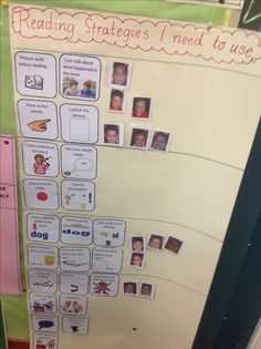 Visible learning reading strategy board I would add words to label overall strategies for each category.