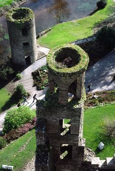 Two Towers at Blarney Castle, Cork, Ireland.I want to visit here one day.Please check out my website thanks. www.photopix.co.nz