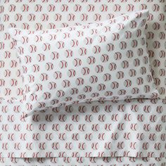 Sale ends soon. Our kids baseball bedding is made from comfy cotton and the blue quilt is uniquely designed to resemble a baseball diamond. The printed sheet set is made from organic cotton. Kids Sheet Sets, Kids Sheets, Twin Sheets, Twin Sheet Sets, Sports Bedding, Kids Play Spaces, Pottery Barn Teen Bedding, King Bedding Sets, King Comforter