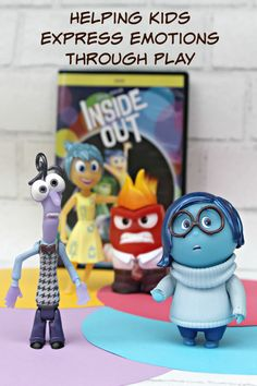 My son has autism, so expressing his feelings is hard. The toys from the movie Inside Out, helps him express emotions through play #InsideOutEmotions #ad