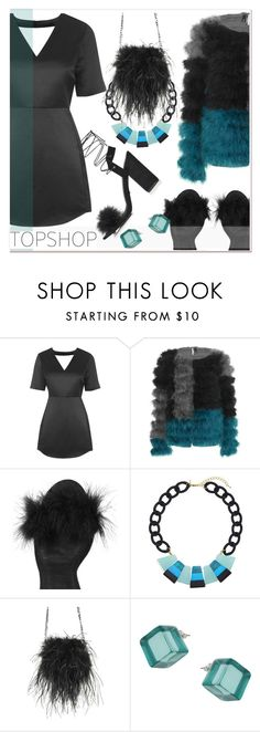 """""""ho-ho!"""" by paculi ❤ liked on Polyvore featuring Topshop, topshop and occasiondresses"""