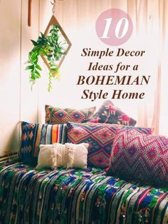 Looking for some home inspiration? Warm, relaxed, and inviting, why not  try Boho? By simply swapping out the accessories that you already have, and adding a few great funky additions, you can have a beautiful new space in no time. It doesn't have to be elaborate or expensive - Boho is all about a natural, no-fuss feel. Read on as eBay shares ten easy ideas to get you started on the Boho home of your dreams!