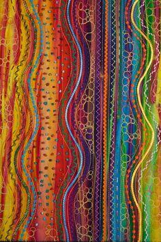 Color Rhythms, commission for Kaiser Permanente by Carol Ann Waugh
