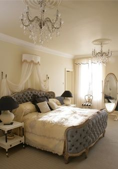 Traditional Bedroom via Lonny