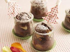 Kleine Schokoladenkuchen im Glas | Zeit: 30 Min. | http://eatsmarter.de/rezepte/kleine-schokoladenkuchen-im-glas