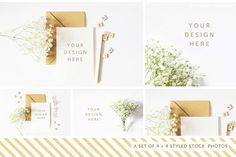 Styled Stock Photography Pack - 03 - Product Mockups