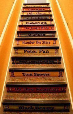 perfect as stairs up to a kids playroom