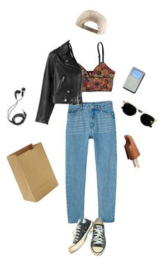 06 by foxjoan on Polyvore featuring Acne Studios, Monki, Converse and DEOS