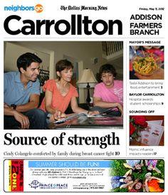05/11: Cindy Colangelo finds hope, strength while battling breast cancer.    http://neighborsgo.com/stories/82856