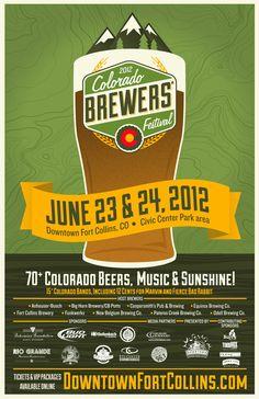 Colorado Brewers' Festival Poster