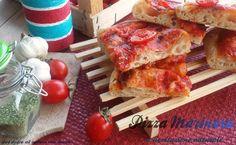 Pizza marinara con lievito madre
