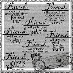 A Friend is.......Set | tlc4lo - Digital Art  on ArtFire