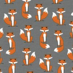 Fabulous Foxes Foxes Grey