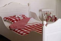 Bed Nova van www.knuss.nl bij klant thuis.