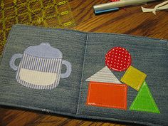 'Celebrate The Boy!' Tutorial: Soft Baby Book | thimbly things