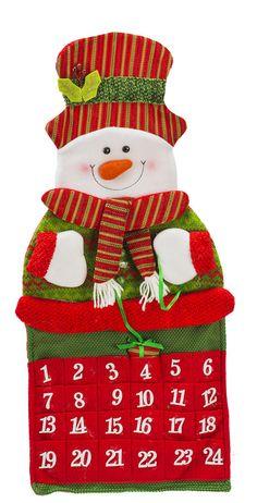 adornos navideos calendario enfeite classic cm numeros sort diagonal cd