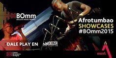 El primero de los Showcases del #BOmm2015, justo para los rumberos y bailadores: @Afrotumbao. ¡Aplausos!