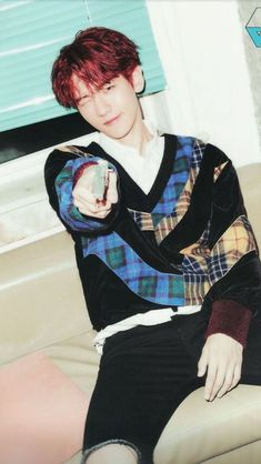 Baekhyun for Vivi magazine. Baekhyun Fanart, Chanyeol Baekhyun, Exo K, Park Chanyeol, K Pop, Got7, Kai, Ko Ko Bop, Exo Members