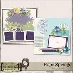 Hope Springs - Templates by Designworks Art Template, Templates, Spring Template, Png Format, Site Design, Digital Scrapbooking, Digital Art, Gallery Wall, Studio