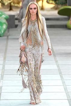 Roberto Cavalli Spring 2011 Ready-to-Wear Fashion Show - Natalia Vodianova