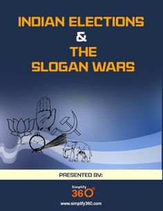 Indian Elections  The Slogan Wars