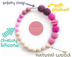 Hey, I found this really awesome Etsy listing at https://www.etsy.com/listing/119217673/teething-trifecta-baby-silicone-teether