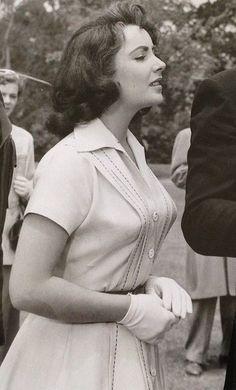 "gatabella: "" Elizabeth Taylor, The Last Time I Saw Paris """